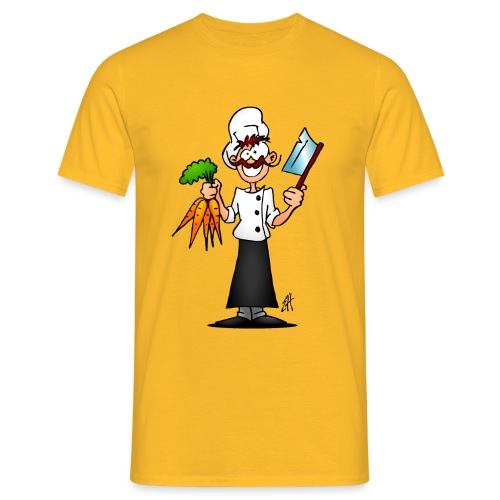 The vegetarian chef - Men's T-Shirt