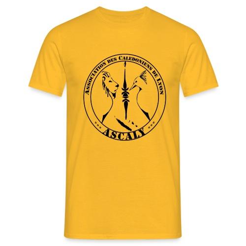 LOGO TSHIRT BLACK 01 - T-shirt Homme