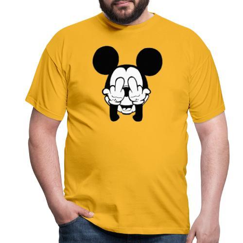 musse svart - T-shirt herr