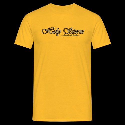 Schritzug - Männer T-Shirt