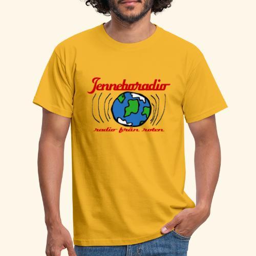 Jenneboradio -radio från roten - T-shirt herr