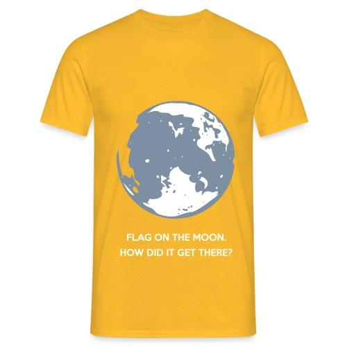Flag on the Moon - Men's T-Shirt