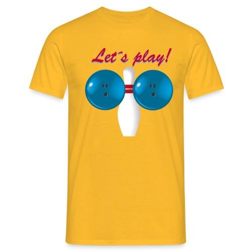 Let´s Play! - T-shirt herr
