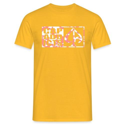 Camo Capaddicts Logo - Männer T-Shirt