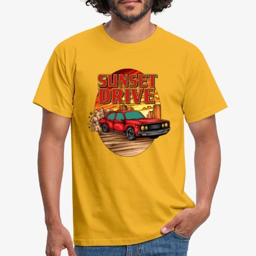 Sunset Drive - Männer T-Shirt