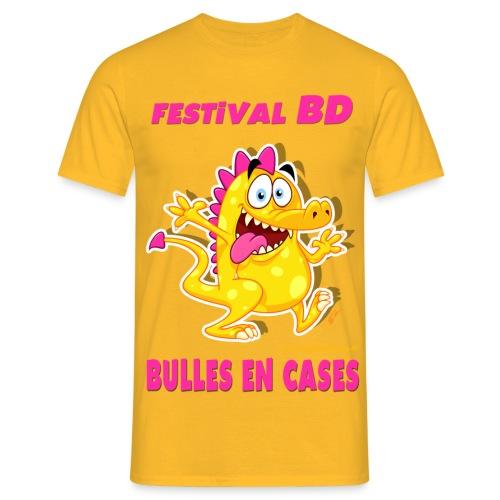 Bulles En Cases-v3 - T-shirt Homme