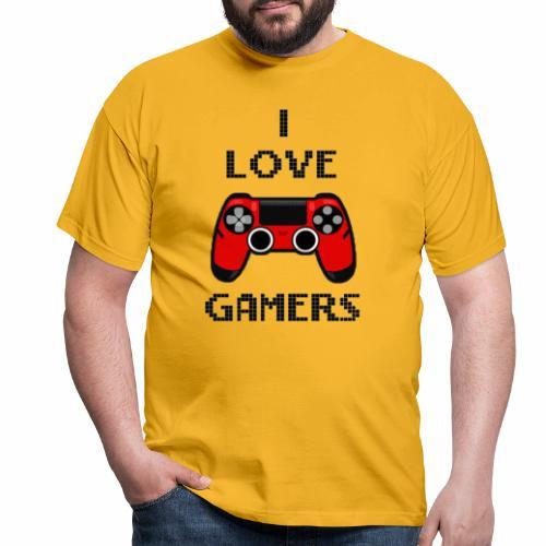 Love gamer - Maglietta da uomo