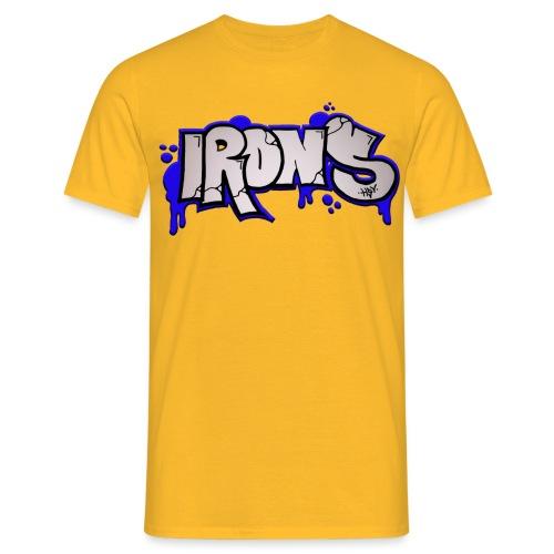 Irons Stiicker Shirt png - Männer T-Shirt