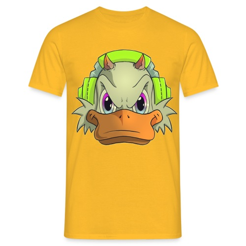 Duckie head - T-shirt herr