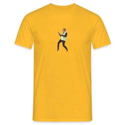 macron en gilet jaune 8bit - T-shirt Homme
