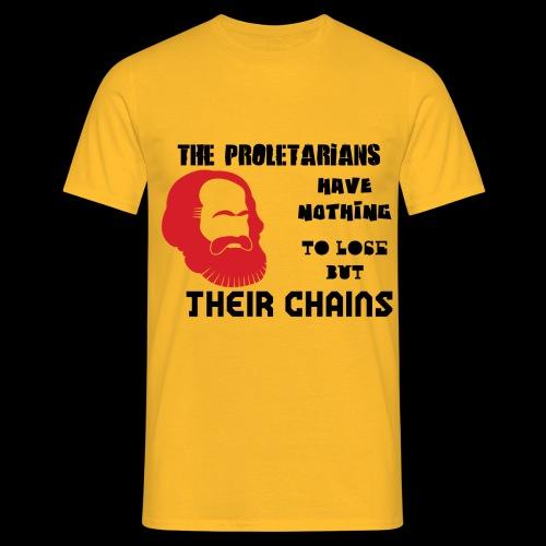 Karl Marx - Camiseta hombre