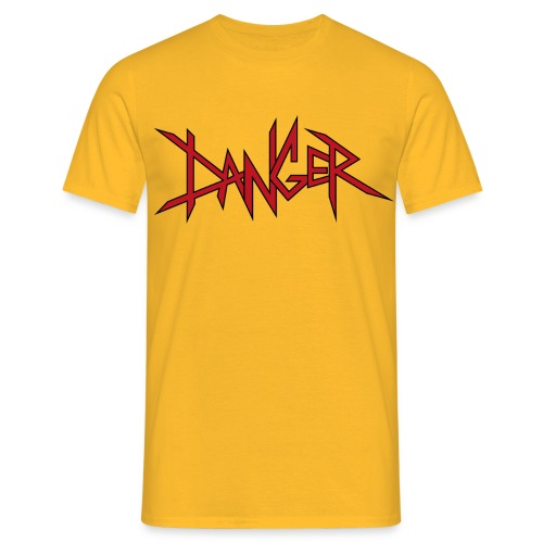 DANGER - T-shirt Homme