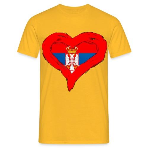 SRBIJA U SRCU - Men's T-Shirt
