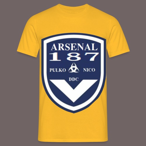 MOTIF GIRONDINS transparant png - T-shirt Homme