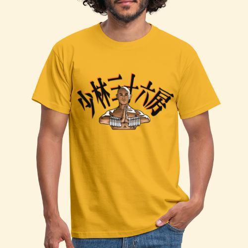 Shaolin Warrior Monk - Mannen T-shirt