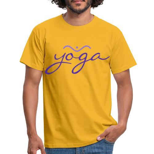 Yoga Balancing Typography And Emblem 3 - Männer T-Shirt