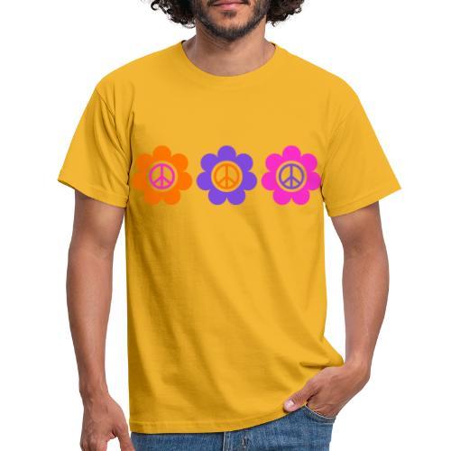 Power Flowers Of Peace Trilogy 1 - Männer T-Shirt
