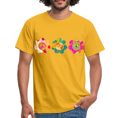 Power Flowers Of Peace Trilogy 3 - Männer T-Shirt