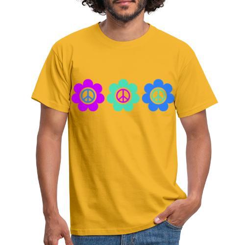 Power Flowers Of Peace Trilogy 2 - Männer T-Shirt