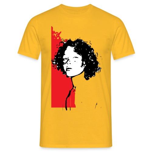 L'enfant rouge représente la terre rouge d'Afrique - T-shirt Homme