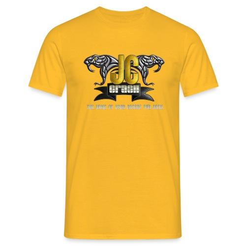 JC Crash LOGO big 28 7 16 png - Männer T-Shirt