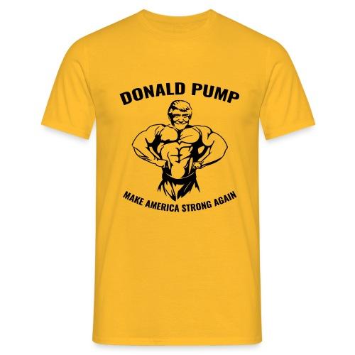 Donald Pump - Männer T-Shirt
