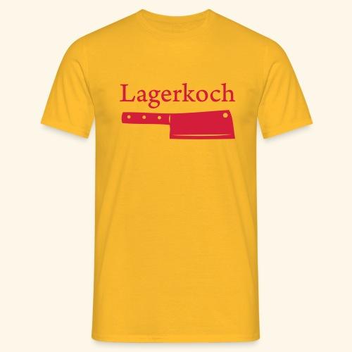 Lagerkoch Hackbeil - Männer T-Shirt