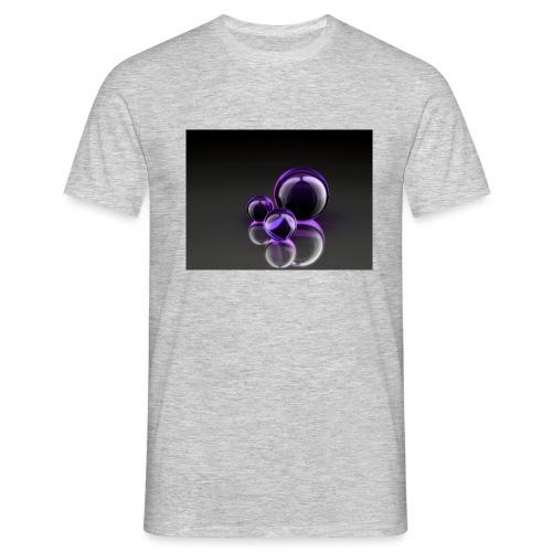 Purple Balls - Männer T-Shirt