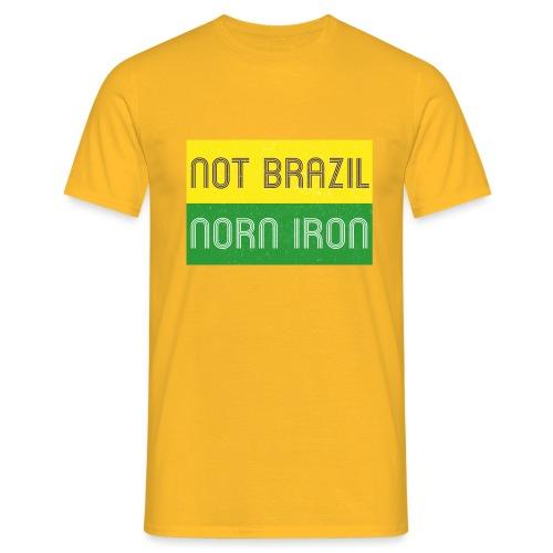 notbrazil2a jpg - Men's T-Shirt