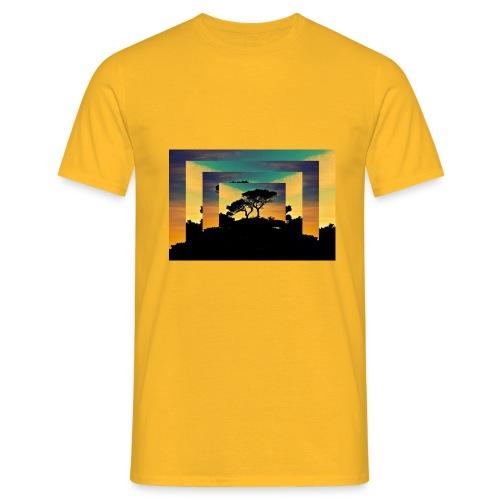 Natur Africa - Männer T-Shirt