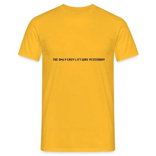 170106 LMY t shirt hinten png - Männer T-Shirt