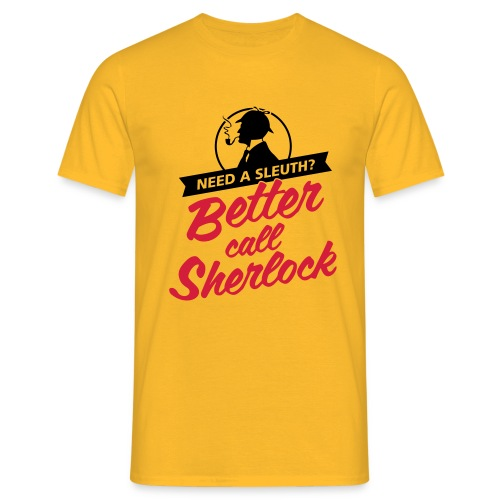 Better Call Sherlock - Männer T-Shirt