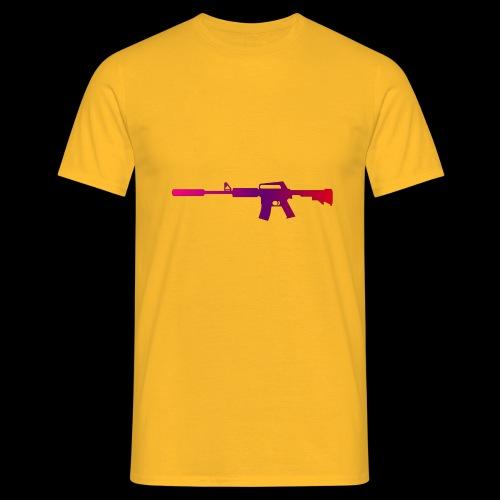 csgo m4a1 s fade - T-shirt herr