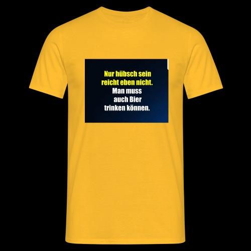 Bierlovers - Männer T-Shirt