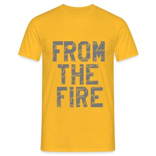 ftf college script design - Men's T-Shirt