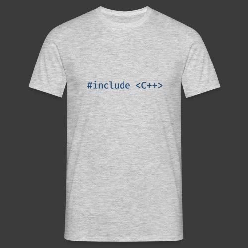 Blue Include Logo - Men's T-Shirt