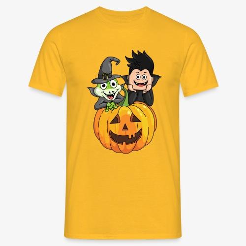 Tomu och Ödlan Halloween - T-shirt herr
