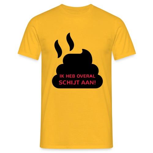 Grappige Rompertjes: Ik heb overal schijt aan - Mannen T-shirt