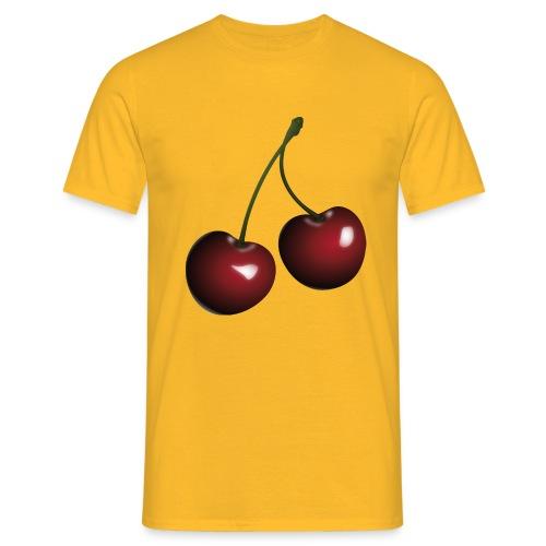 Körsbär - T-shirt herr