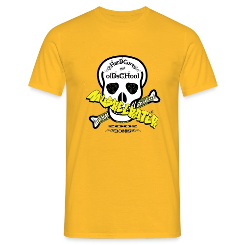 Skull gif - Männer T-Shirt