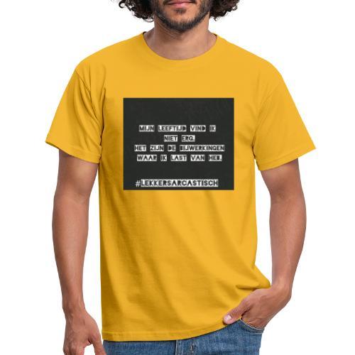 Lekker sarcastisch - Mannen T-shirt