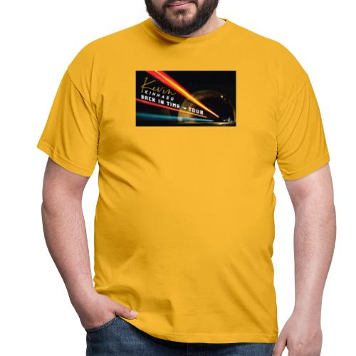 Back In Time Tour test - Mannen T-shirt