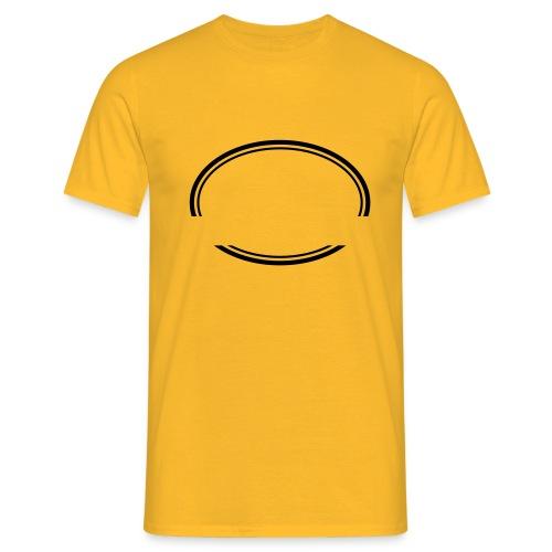 Kreis offen - Männer T-Shirt