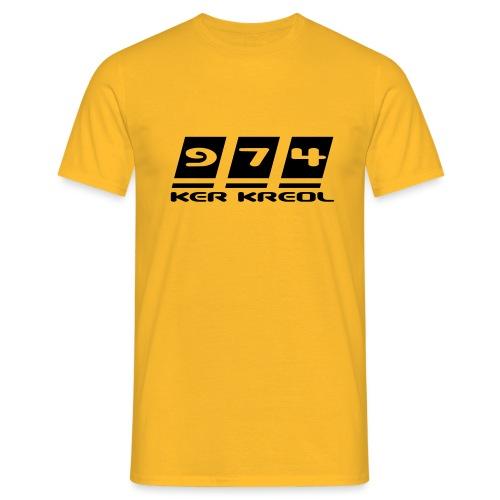 Ecriture 974 Ker Kreol - T-shirt Homme