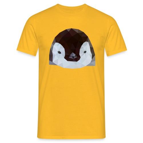 Pinguin Baby Polygon Art - Männer T-Shirt