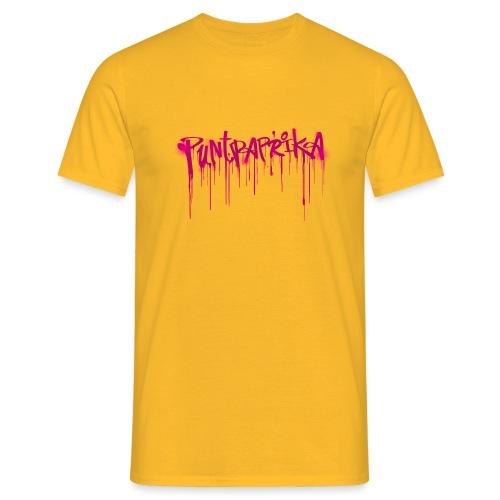 Puntpaprika - Mannen T-shirt