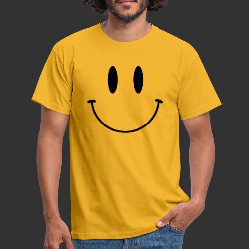 Happy Smile - T-shirt herr