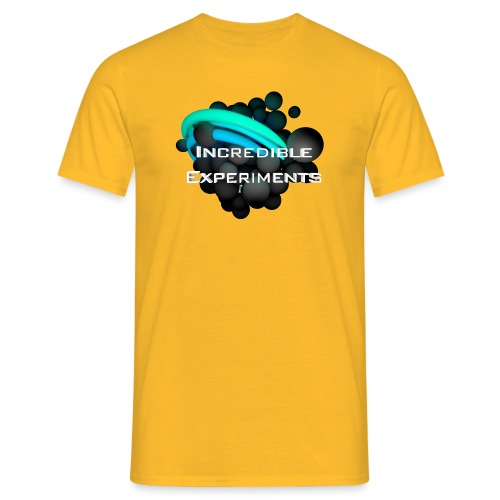 Incredible Experiments Logo - Männer T-Shirt