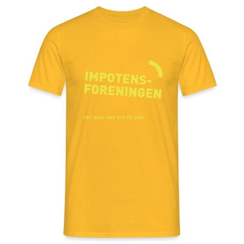 Impotensforeningen (fra Det norske plagg) - T-skjorte for menn