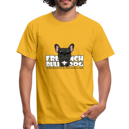 French Bulldog (Brindle)- DGBigHead - Men's T-Shirt